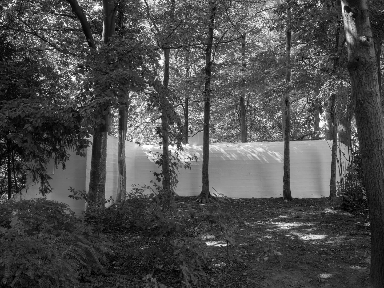 De fluogele bunker in het Stadspark