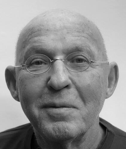 Portret van Arthur Langerman.