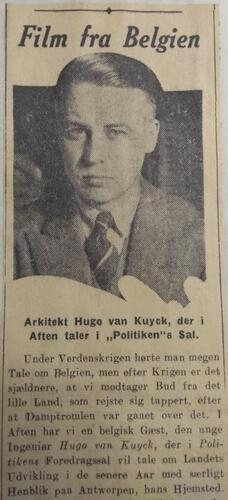 Skandinavisch krantenartikel