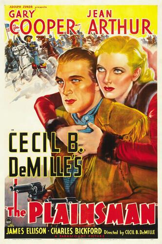 Filmaffiche van The Plainsman van Cecil B. DeMille
