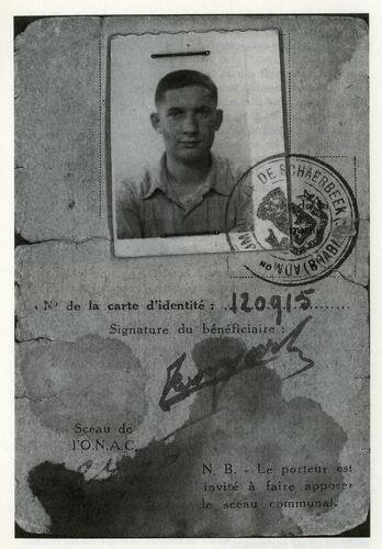 Repatriëringskaart vanIsrael Rosengarten
