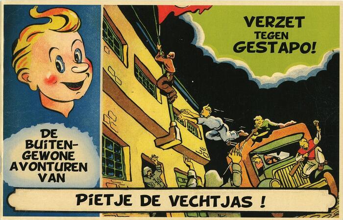 Cartoon van Pietje de Vechtjes