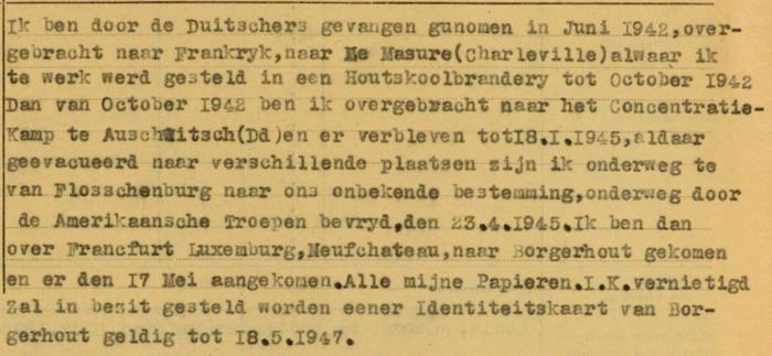Getuigenis Jaap Koster